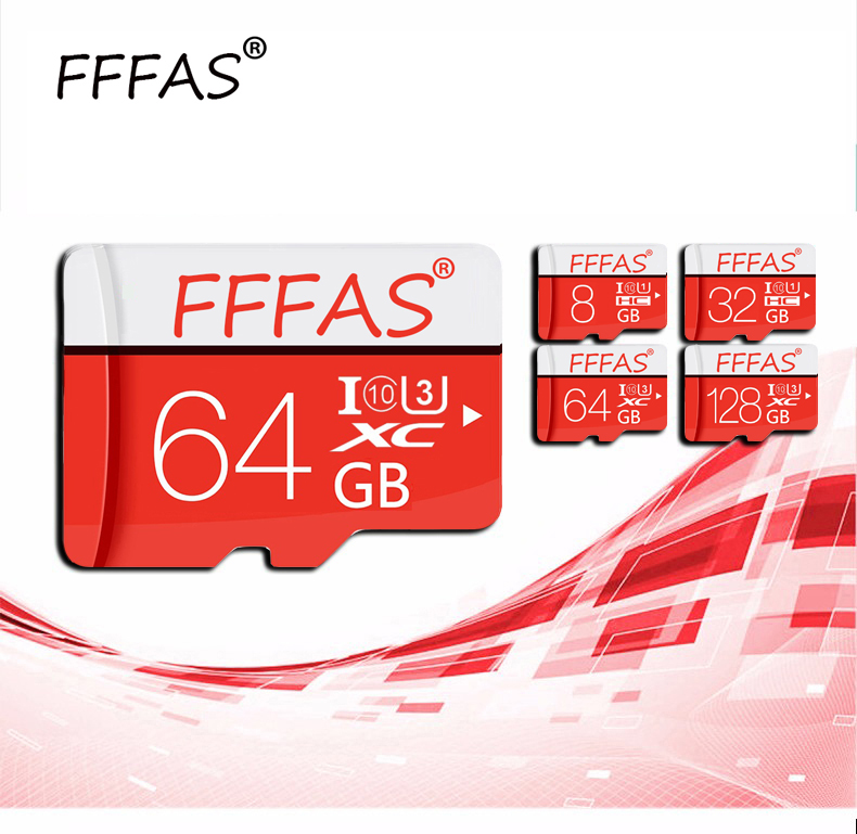 Memory Card 32GB 16GB <font><b>8GB</b></font> 128GB 64GB USB Card <font><b>Class</b></font> <font><b>10</b></font> TF <font><b>SD</b></font> Card 8 16 32 64 128 GB Cartao De Memoria <font><b>Carte</b></font> Adapter Lezer image