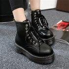 Platform Boots Women...