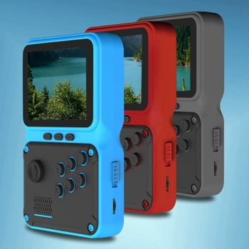 2021 JP09 retro mini portable electronic game console with 2.8-inch screen supporting 5 languages TV output 1