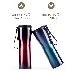 Image 5 - Xiaomi Kiss kiss fish Moka Stainless Smart Coffee Cup Thermal Vacuum Water Bottle App Rmote Control Sensitive Temperature Sensor