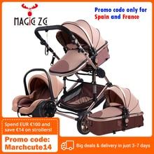 Baby Stroller Folding Luxury-Umbrella High-Landscape 3-In-1