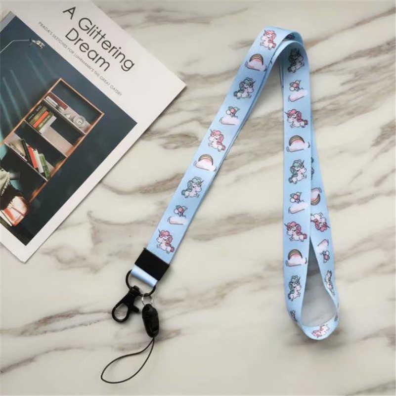 Carino Cordino ID Pass Card Badge Titolari Del Fumetto Del Telefono Cinghie del Collo Palestra Key/Supporto Del Telefono Mobile Del USB FAI DA TE Hang corda Cordicella del Lariat