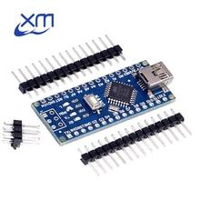 Free shipping ! 10PCS Nano V3 3.0 controller compatible nano CH340 USB driver NO CABLE 24l01 nano v3.0 For Arduino