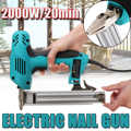 10-30mm Elektrische Gerade Nagel-Gun Heavy-Duty Holzbearbeitung Werkzeug Elektrischen Staple Nagel 220V 2000W Tragbare Elektrische Tacker Pistole