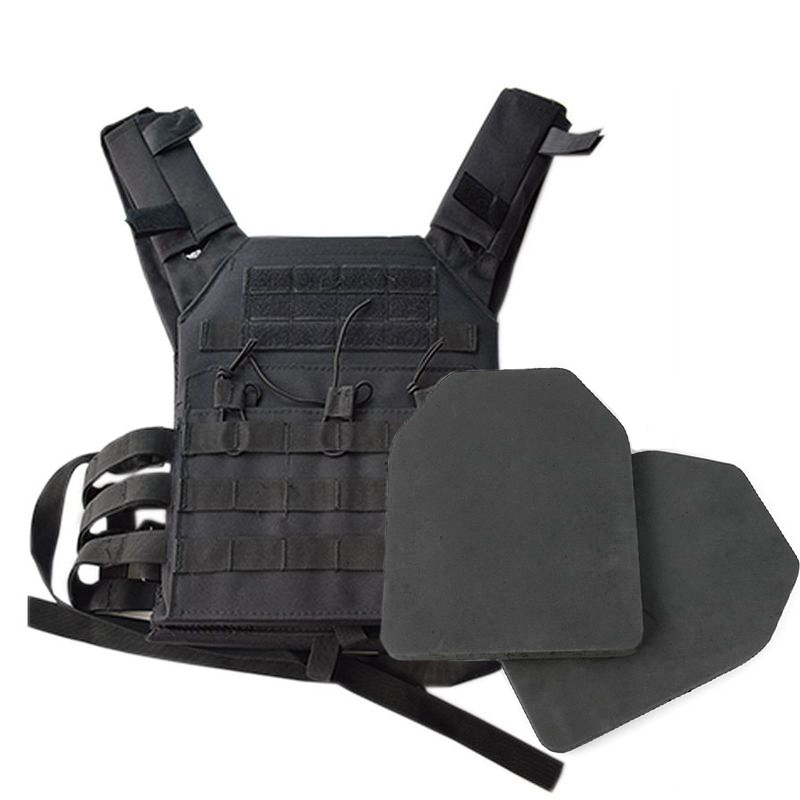 2 Pcs Foam Training Hunting Body Armor Plates Dummy Tactical Vest Bulletproof Panel For JPC Military Airsoft Vest Equipment