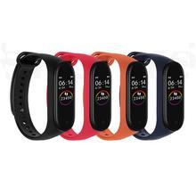 Умный Браслет M4, 3 цвета, AMOLED экран, для Miband 4, Smartband, фитнес-браслет, Bluetooth, спортивный, водонепроницаемый, смарт-браслет