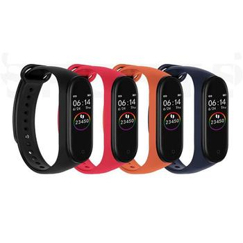 50pcs/set New M4 Band Smart Bracelet 3 Color AMOLED Screen For Miband 4 Smartband Fitness Bluetooth Sport Waterproof Smart Band