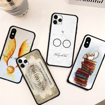 aesthetics art Phone Case for iPhone 11 12 pro MINI XS MAX 8 7 6 6S Plus X 5S SE 2020 XR Harries Potter image