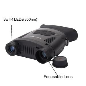 Image 3 - WILDGAMEPLUS NV200C Infrared Night Vision Binoculars Telescope 7X21 Zoom Digital IR Hunting Night Vision Goggles Optical Hunter