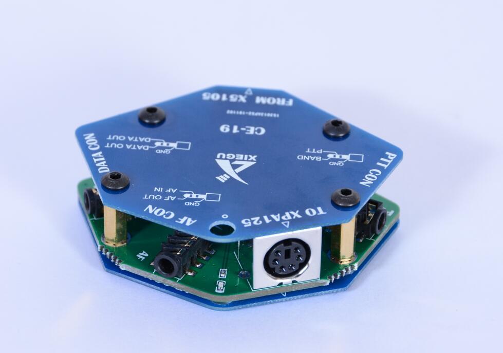 Original Xiegu CE-19 CE19 Data Interface Expansion Card For XIEGU G90 X5105 ACC PTT XPA125