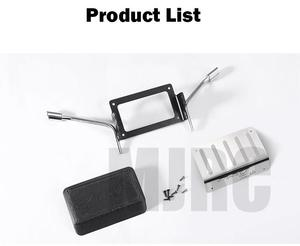 Image 2 - metal Fuel tank and exhaust pipe 1/10 Rc crawler truck Bronco Traxxas Trx4 tail exhaust pipe 82046 4 TRX4 dedicated