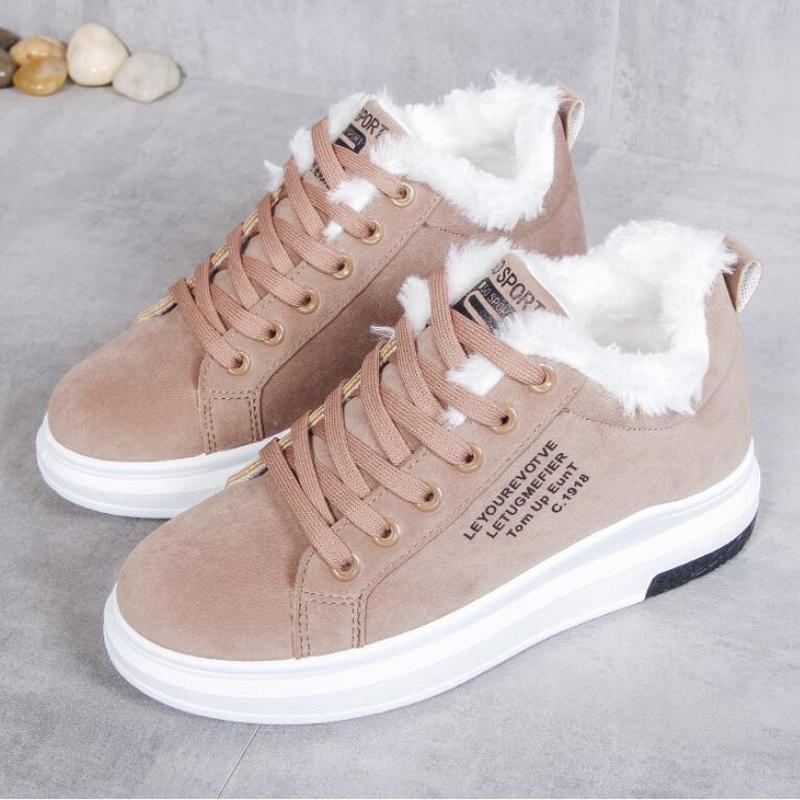 Mhysa 2020 bawełniane buty nowe damskie buty zimowe oraz aksamitne bawełniane buty damskie grube podeszwie ciepłe śnieg damskie bawełniane buty L632