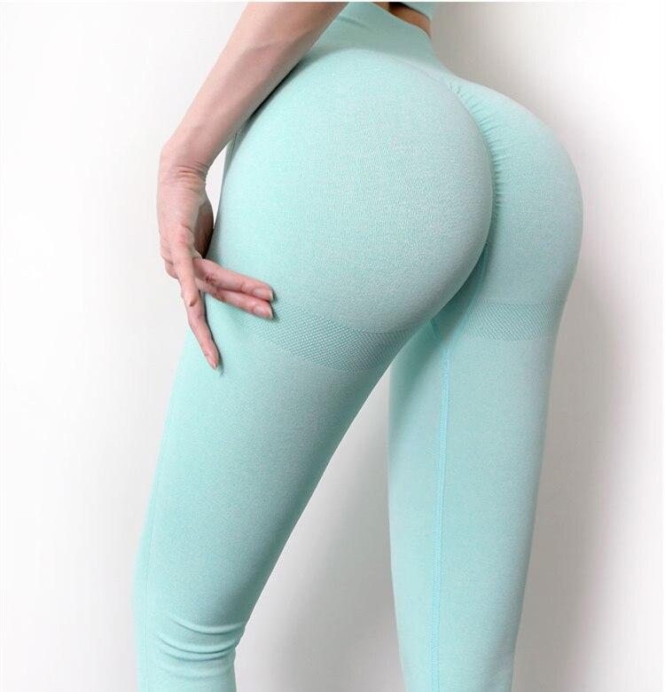 Seamless Leggings Push Up Bubble Butt Sport Women Fitness Gym High Waist Leggings Workout Anti Cellulite Compression Legging 4