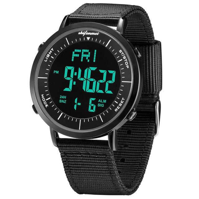 Shifenmei ultra-thin men's electronic watch Men Sport Watch Outdoor Digital Watch Electronic Wrist WatchesRelogio Masculino 1