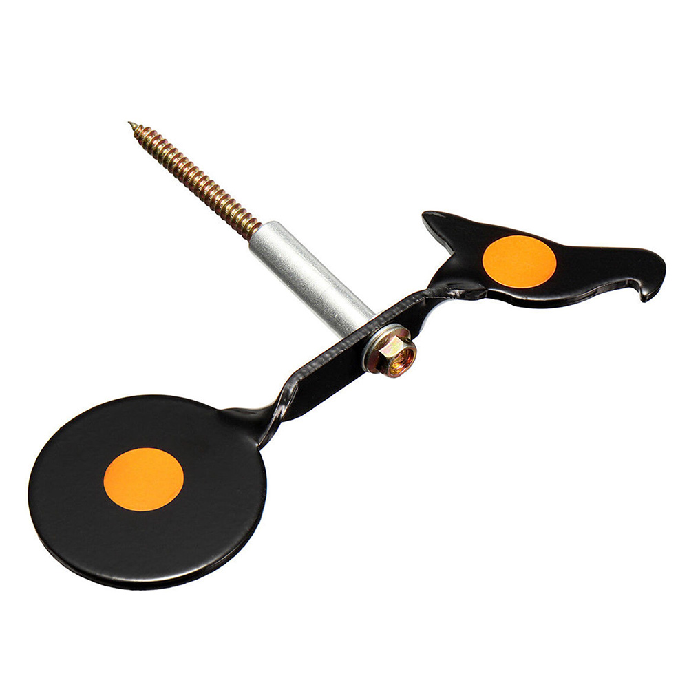 Simplified Side Embed Screwed Type Shooting Target Bird Shaped Portable Easy Install Gaming Practice Spinner Plinking Training