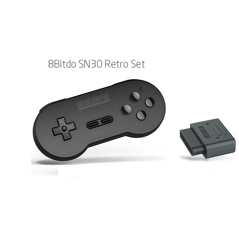Buy 8BitDo Wireless Bluetooth SN30 Retro Set for Nintendo SNES SF-C for only 39.99 USD