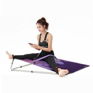 Image 5 - 3 Bar Bacak Sedye Bölünmüş Makine Uzatma Cihazı Paslanmaz çelik ayak Ligament için Bale Yoga Egzersiz Eğitim Ekipmanları