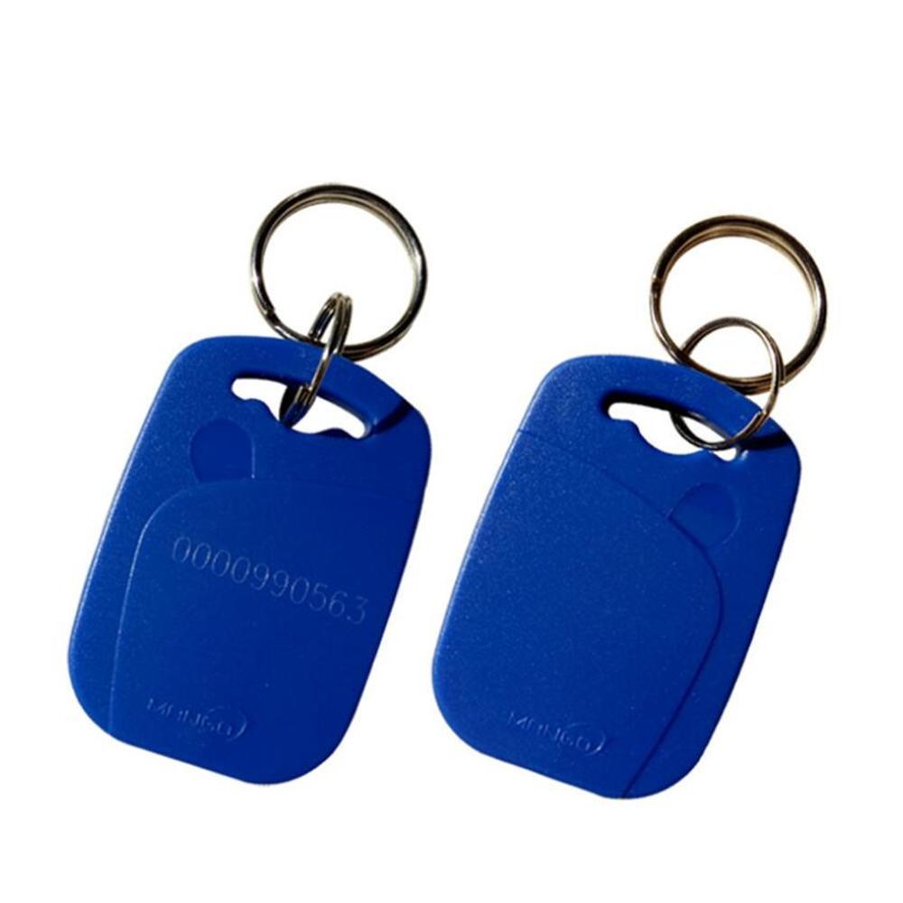 125khz RFID Transponder With EM4100 TK4100 RFID Fobs Key Tag KeyChains Read Only ID Tag