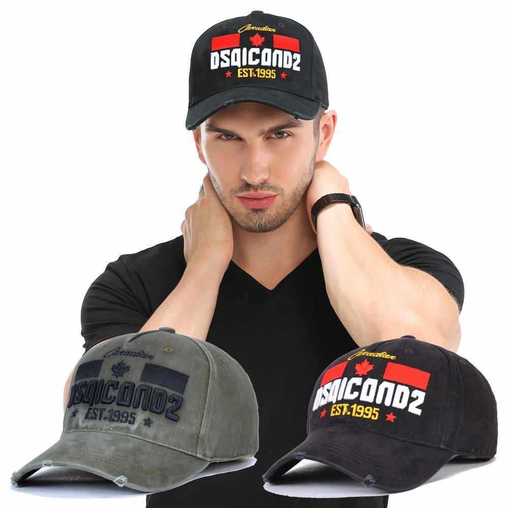 DSQICOND2 Kappe Marke DSQ2 buchstaben Casquette Hut Stickerei Schwarz Dad Hip Hop Baseball Cap DSQ Hysterese Hut Kappe für Mann frau hut