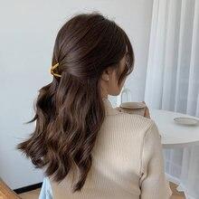V Форма сплав женские волосы коготь капли масла Многослойные