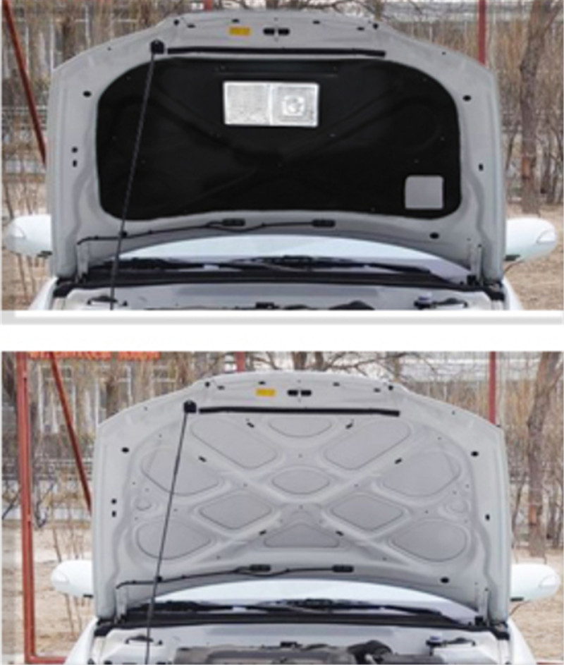 thermal insulation cotton sound insulation cotton heat insulation pad modified Car styling For Hyundai Elantra 2013-2017