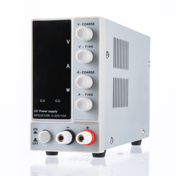 New NPS3010W 110V/220V Digital Adjustable DC Power Supply 0-30V 0-10A 300W Regulated Laboratory Switching Power Supply