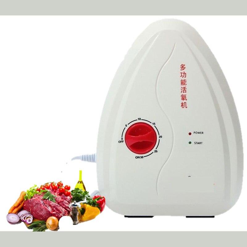 Oczyszczacz powietrza oczyszczanie wody tlen o3 dezynfektor Generator ozonu ozonizator myjka do warzyw i owoców pomoc kuchenna