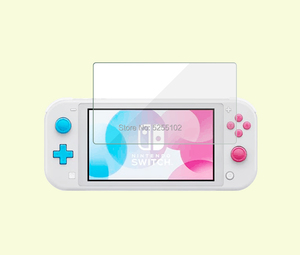 Image 2 - 1set 9 H Tempered glass scree Glass Screen Protector For Nintendo Switch NS Screen Protector For Nintend Switch Lite Accessories