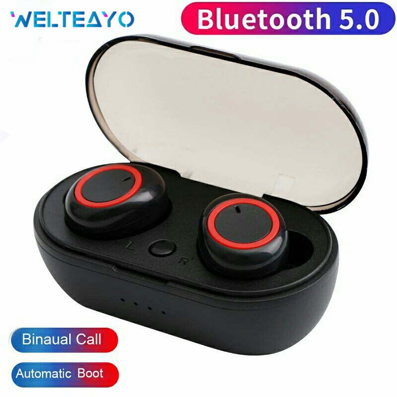 M2 TWS Bluetooth 5.0 Earphone Touch Control Wireless Headphones Bass Headset For Xiaomi IPhone Samsung IPad Phone Moblie Earbuds