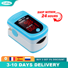 Cofoe Medical Fingertip Pulse Oximeter SPO2 PR Blood Oxygen Saturation Monitor Portable Household Heart Rate Pulse Oximeter