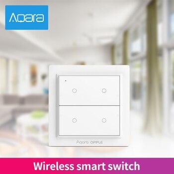 Original Aqara Opple Wireless Smart Switch ZigBee 3.0 International Version Work With Mijia App Smart Wall Switch