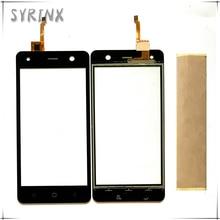 Syrixn bezpłatne taśmy dotykowy Panel telefonu czujnik przedniej szyby dla BQ Trend BQ 5009L BQ5009L BQ 5009L ekran dotykowy Digitizer ekran dotykowy