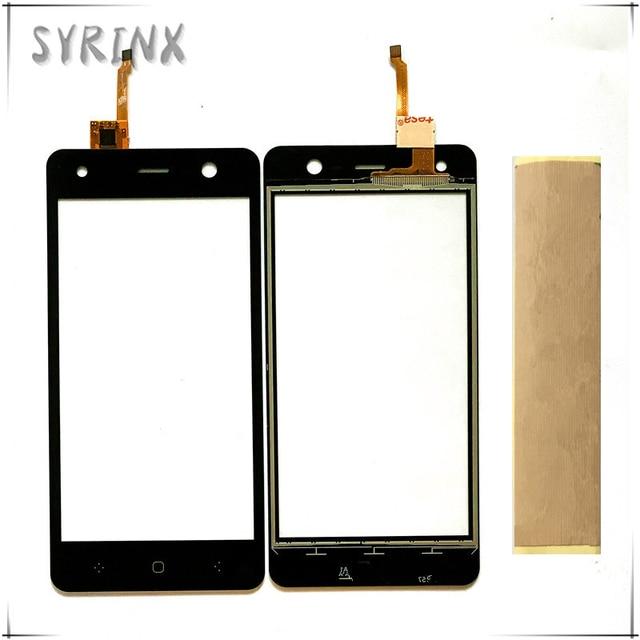 Syrixn libera il sensore di vetro della parte anteriore del pannello di tocco del telefono del nastro per il BQ 5009L di tendenza di BQ BQ5009L BQ 5009L Touch Screen Digitizer Touchscreen