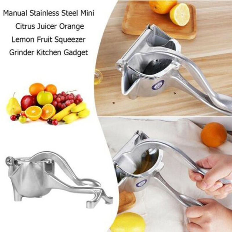 Heavy Duty Eco Juicer Thicken Manual Multi-function Aluminum Alloy Fruit Juicer PAK55