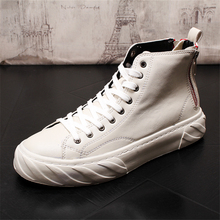 Men Casual Shoes Leather Shoes Men Spring Autumn Fashion Men Boots Fashion New Casual Leather Boots Genuine Leather Men Shoes new men autumn and winter leather boots men shoes zipper leather shoes breathable sneaker fashion boots men casual shoes