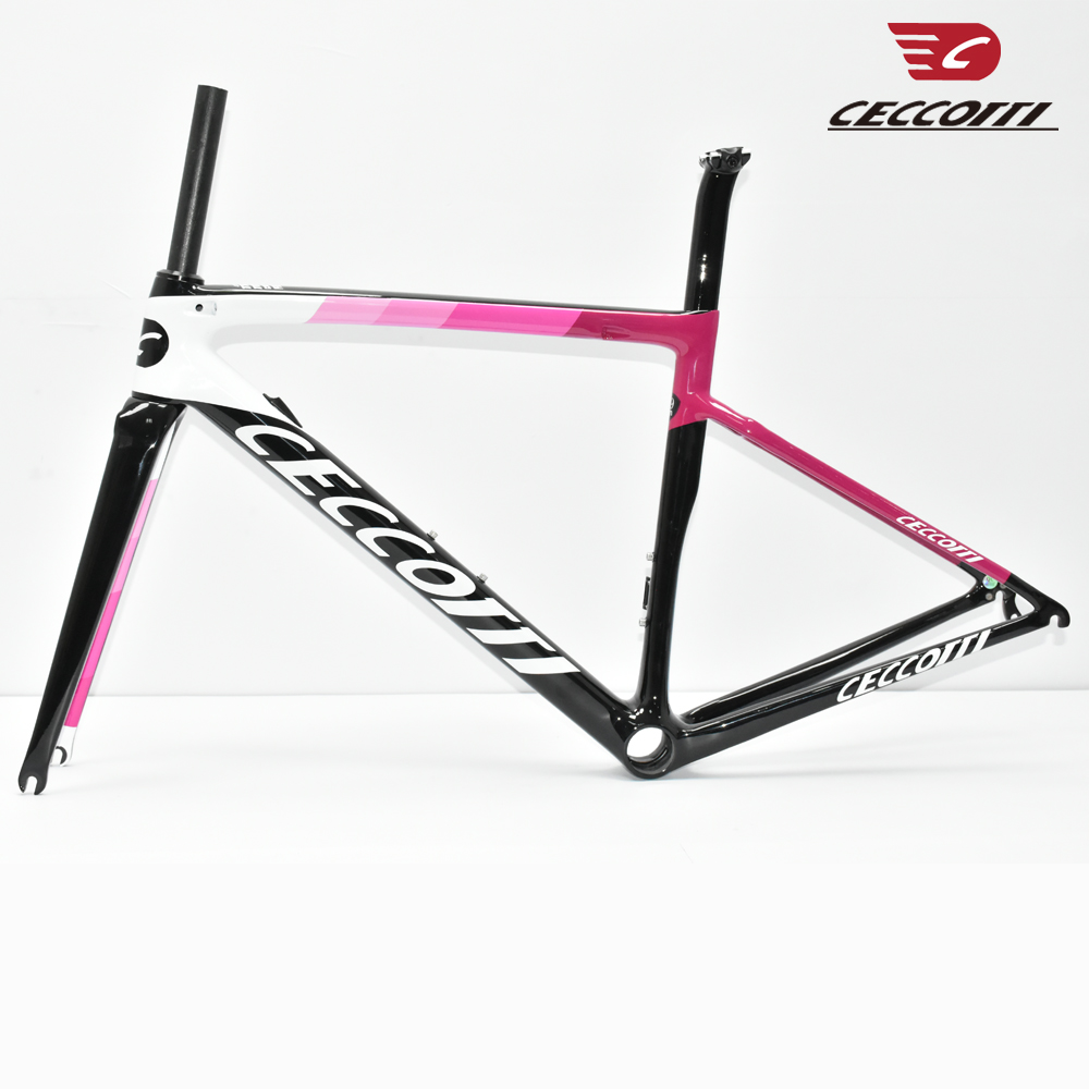 2019 New  DC019 Ceccotti  T800 Carbon Road Bike Frame Cycling Bicycle Frameset Super Light 980g Di2/mechanical Racing