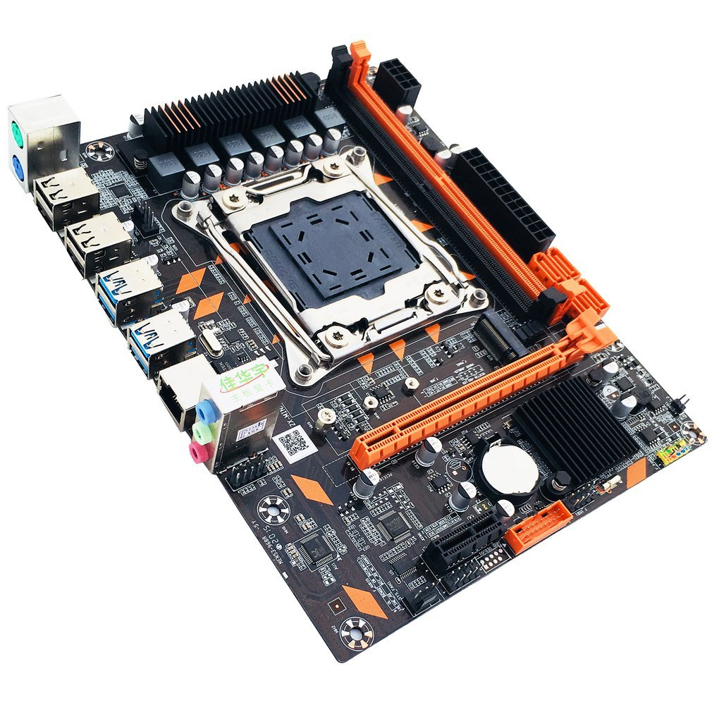 X99 DDR4 Motherboard Slot LGA2011-3 USB3.0 NVME M.2 SSD Support DDR4 Memory And Xeon E5 V3 Processor D4 RAM 2