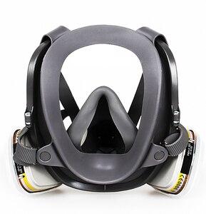 Image 4 - Grote Maat Volledige Gezicht 6800 Gasmasker Gelaatsstuk Respirateur Schilderen Spuiten voor schilderen chemische Laboratorium medische Veiligheid masker