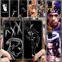XXXTENTACION Triple X Jahseh Phone case For Samsung Galaxy Note 4 8 9 10 20 S8 S9 S10 S10E S20 Plus UITRA Ultra black 3D Etui