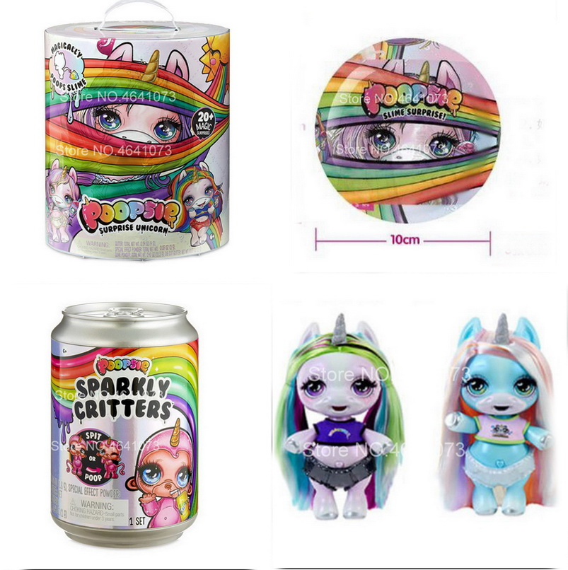 New Fashion Diy Doll Poopsie Ggg Slime Unicorn Kids Toys Princess LOLS Doll Baby Ball With Gift Toys For Girls Children