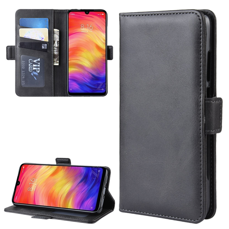 Case For Xiaomi Redmi Note 7 Leather Wallet Flip Cover Vintage Magnet Phone Case For Redmi Note 7 Pro Coque