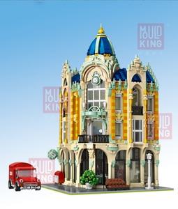 Image 4 - Lepining criador tijolos de arquitetura cidade, especialista, vista de rua, modelo, kit de blocos de construção, adequado para lego, brinquedos para crianças, diy, presentes