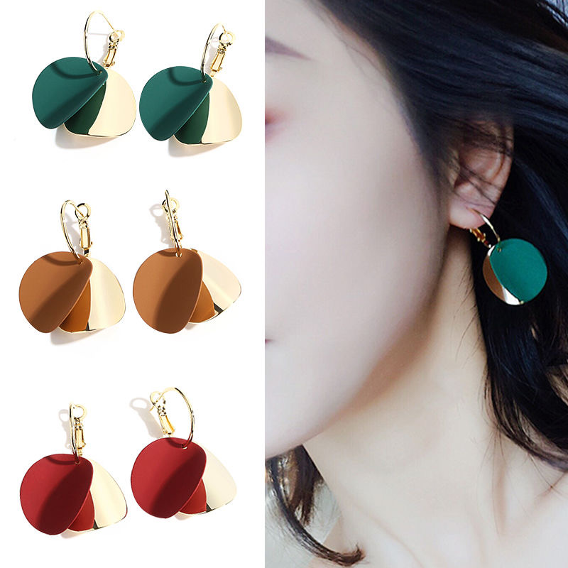 Free Shipping 1 Pair Female Sexy Earrings Simple Fashion Temperament Wild Ear Jewelry