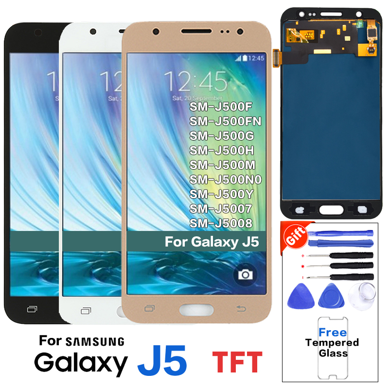For SAMSUNG Galaxy J5 SM-J500F J500FN Display Lcd Screen Replacement For Samsung SM-J500G J500M J5008 Mobile Phone Lcd Display