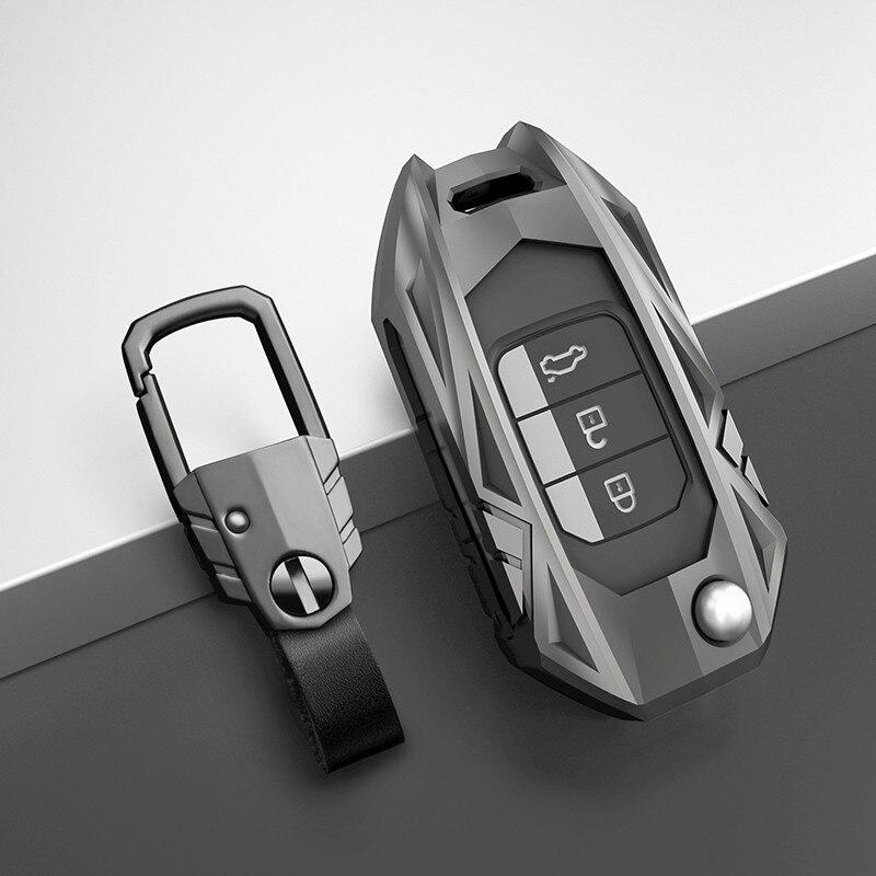 Chave do carro fob capa de bolso caso para honda civic CR-V HR-V accord jade crider odyssey 2015- 2018 protetor remoto acessórios