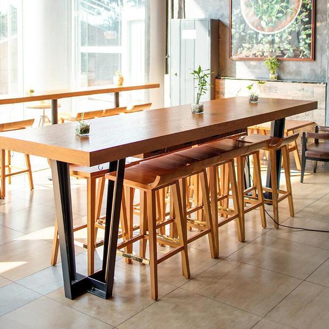 Modern Wood Table Set 2