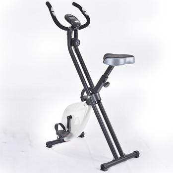 Składany rower rowerowy Fitness rower rowerowy rowerowy hamulec internetowy z 8 poziomem oporu Fitness kulturystyki rower treningowy typu X tanie i dobre opinie X type
