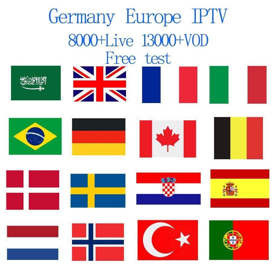 Germa UK IPTV 8000+ Live Channels 13000+vod Best EUROPE XXX IPTV Arabic Sweden  USA  America IPTV For M3U Android IOS Mag box