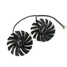 PLD10010B12HH PLD10010S12HH GPU Ventilador Para MSI RX480/580/470/570 GTX950/960/970/980/1060/1070/1080/1080Ti R9 290X/280X/270X Refrigeração