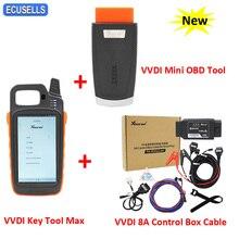 Xhorse VVDI Schlüssel Werkzeug Max VVDI MINI OBD Werkzeug VVDI 8A Control Box Kabel für Toyota 8A Nicht Smart schlüssel Alle Schlüssel Verloren Adapter